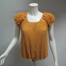 POEMS camicia donna manica corta art.131WTO313 col.GIALLO tg.M ESTATE 2013