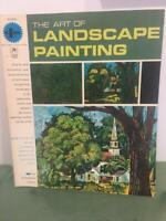Grumbacher Vtg Art of Landscape Painting 1965 How To Instruction Book 40003