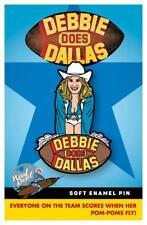 Debbie Does Dallas Soft Enamel Pin By Wood Rocket