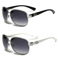 80s Mens Womens Vintage Retro Classic Fashion Designer Aviator Sunglasses Large
