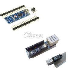 ENC28J60 Ethernet Shield Module+Arduino USB Nano V3.0 4.0 Atmega328P 5V Board