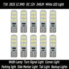 Waterproof LED Car Lamps Auto Truck Width Lights T10 2835 12SMD Bulbs 10pcs/LOT