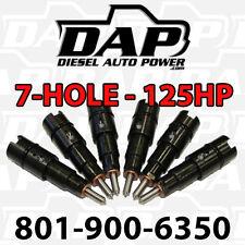 +125HP Performance Injectors for Dodge Diesel Cummins RAM Cummins 24v 125 Jammer