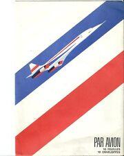 Enveloppe Concorde aviation avion plane flugzeug aéronautique papeterie