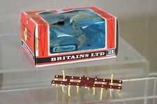 BRITAINS 9536 CULTIVATOR MAROON 1978 BOXED mv