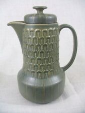 WEDGWOOD - CAMBRIAN GREEN - COFFEE POT