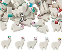 Pack of 24 - Mini Llama Rubber Erasers - Teacher Rewards