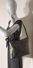 Rolfs Silver Pebbled Leather Studded Purse Bag Satchel