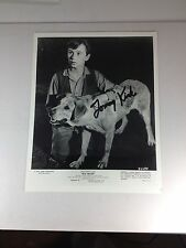 """Tommy Kirk, """"Old Yeller"""" The Mickey Mouse Club Autographed 8 X 10 Photo PSA/DNA"""