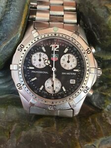 TAG HEUER CK1110 chrono mens watch