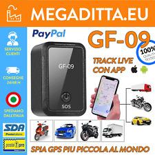 LOCALIZZATORE AUTO MINI GPS TRACKER SATELLITARE REGISTRAZIONE VOCALE GSM GPRS