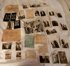 Named Grouping 30 cal Capture & Other Papers 23 Photos Permits more 1942 - 45
