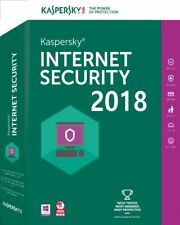 Kaspersky Internet Security 2018 1PC/Mac 1Jahr Vollversion + GRATIS install. DVD