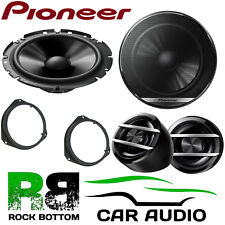 Pioneer Fiat Grande Punto 2005 On 600W Component Kit Front Door Car Speakers