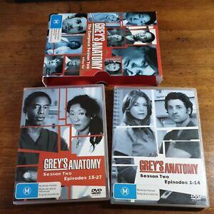 Grey's Anatomy the Complete Season Two Box Set DVD R4 LIKE NEW FREE POST