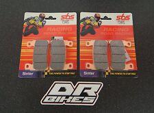 Honda CBR 600 RR 2003 2004 SBS Carrera Sinterizado Delantero Pastillas De Freno 734RS