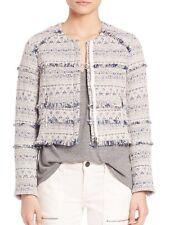 NEW Joie Tesita Tweed Jacket in Chambray - Size XS