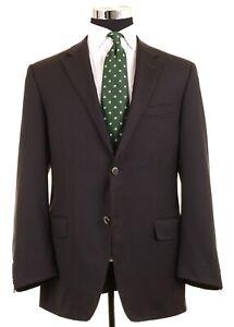 RECENT Canali Brown Label - Brown Water Resistant Wool Sport Coat Jacket 58 48 R