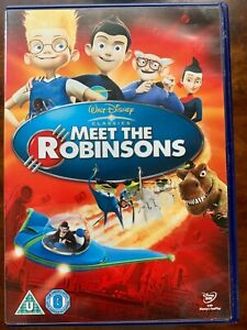 Meet the Robinsons DVD 2007 Walt Disney Animated Family Sci-Fi Movie