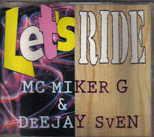 MC Miker G&DJ Sven-Lets Ride cd maxi single Eurodance holland
