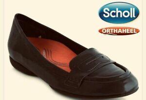 SCHOLL ORTHAHEEL MEADOW PATENT SHOE **RRP $149.95**
