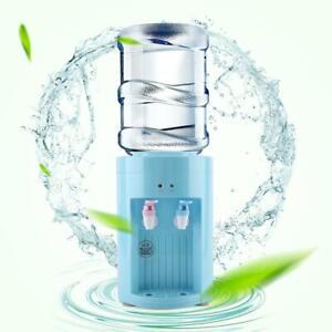 Mini Warm Hot Drink Machine Desktop Electric Water Dispenser Plastic Tap Blue