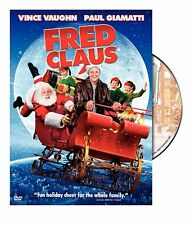 FRED CLAUS - Vince Vaughn (DVD, 2008) - BRAND NEW