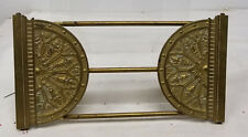 Antique Vintage Cast Bronze Brass Bookends Victorian Bookshelf Desk Set