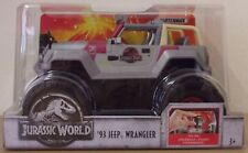 Jurassic World ~ 93 Jeep Warngler ~ 1:24 Scale Matchbox Vehicle