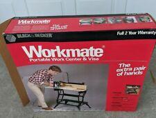 Vintage Black & Decker Workmate 79-041 Portable Work Table Folding Bench & Vice!