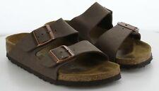 S12 MSRP $99.95 Men's Size 37 B Birkenstock Arizona Brown Birkoflor Sandals