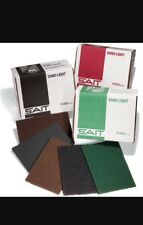 Abrasive sanding pads-box of 20 - Sait- sand-light maroon pads - sand compound