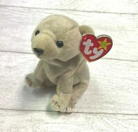 Almond Bear 5th Generation 1999 Retired Ty Beanie Baby Collectible Gifts
