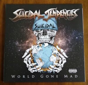 Suicidal Tendencies - World Gone Mad (Gtf./2LP/Ltd.Blue Vinyl)  (2016)