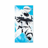 "Disney's Star Wars Blue Flame Storm Trooper 100% Cotton Beach Towel - 28"" x 58"""