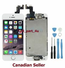 New iPhone SE White LCD Touch Digitizer Glass Screen Assembly Home Button Camera