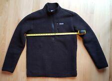 Patagonia Retro Pile Fleece pullover 1/2 zip Black Mens M Medium Excellent