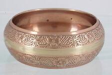 Embossed Design Bangle Bracelet Fashion 9761 Brass & Copper Heavy & Wide