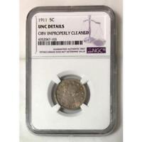 1911 Liberty Nickel Unc Details *Rev Tye's* #710344