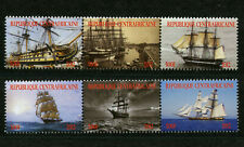 Tall Ships Sailing 2 mnh strips of 3 stamps each 2012 Central Africa