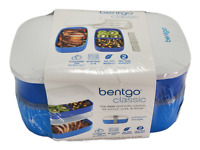 Bentgo Classic - All-in-One Stackable Bento Lunch Box Container - Sleek and Mod