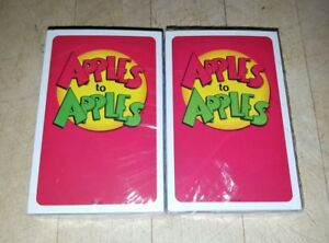 New Sealed Apples to Apples Card Game Replacement Factory Sealed Red Card Game