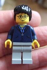 * LEGO Harry Potter pupazzetto: HARRY POTTER HP033 BLU SCURO Zipper Top