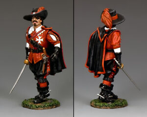 KING & COUNTRY PIKE & MUSKET PNM051 THREE MUSKETEERS COUNT DE ROCHEFORT