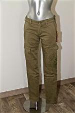 pantalon slim fit kaki zippé ED HARDY #hallyday T 38 fr 42i  NEUF ÉTIQUETTE 249€