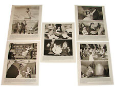 5 1991 BEAUTY AND THE BEAST Movie Press Photos Walt Disney Animated Cartoon