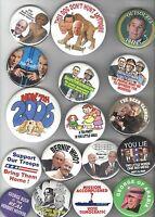 17 Satirical  Old pin ANTI REPUBLICAN pinback button