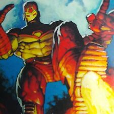 1995 Marvel Masterpieces. Base Card. Iron Man #52. Art by Devries