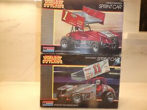 1/24 Sprint Car lot of 2  Monogram  BLUE MAX & COORS LIGHT  KIT NO. 2751 - 2753