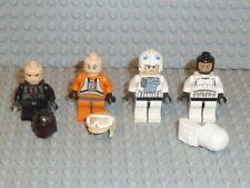 LEGO® Star Wars 4x Figura Clon Trooper Jedi 10188 75159 75192 9516 Accesorios F955
